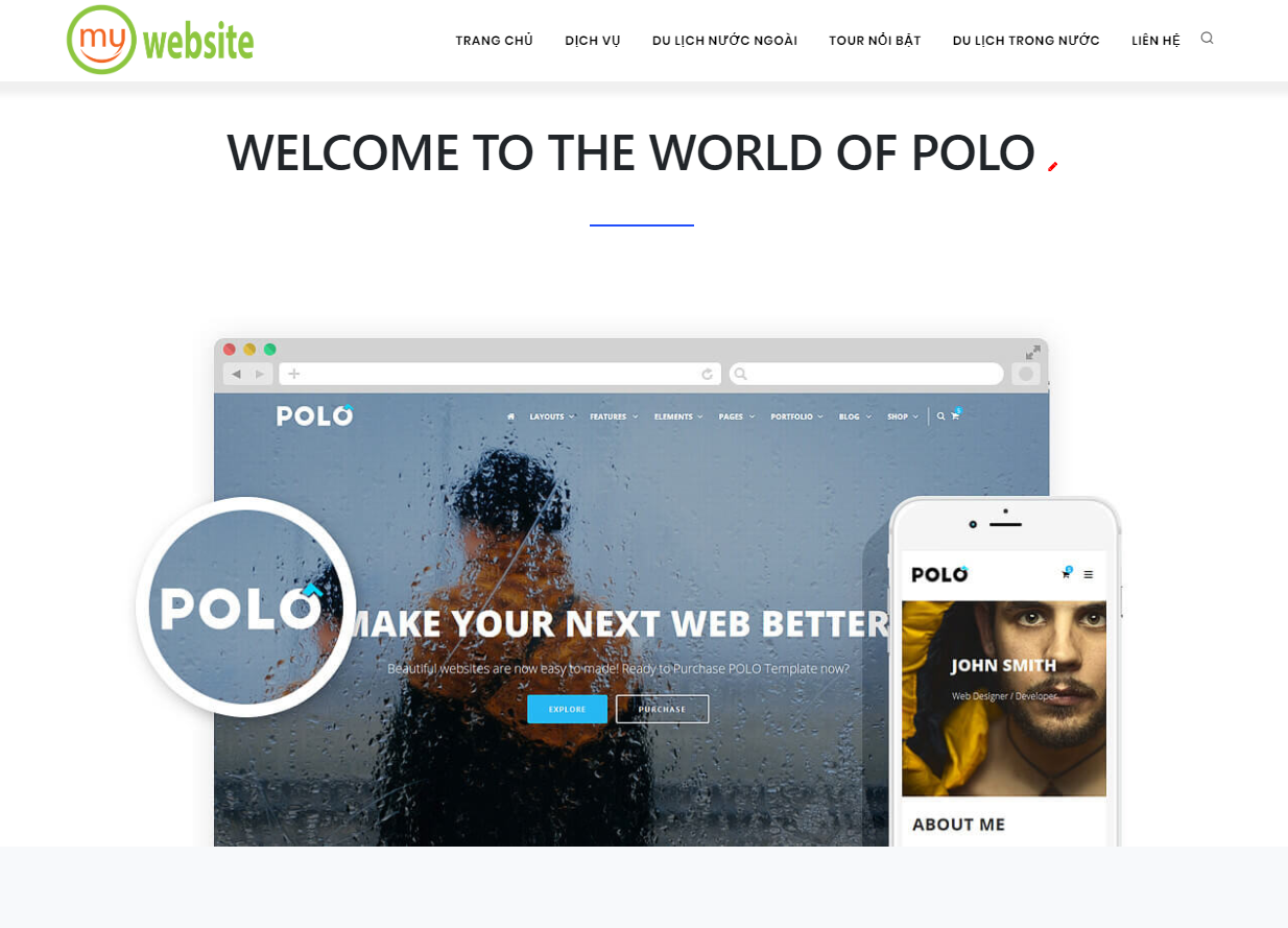 WELCOME TO THE WORLD OF POLO
